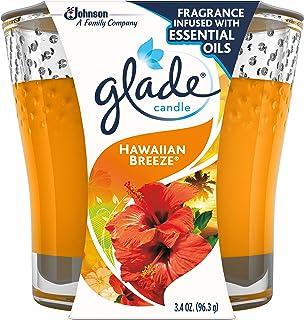 Glade Jar Candle Air Freshener, Hawaiian Breeze, 3.4 Ounce by Glade