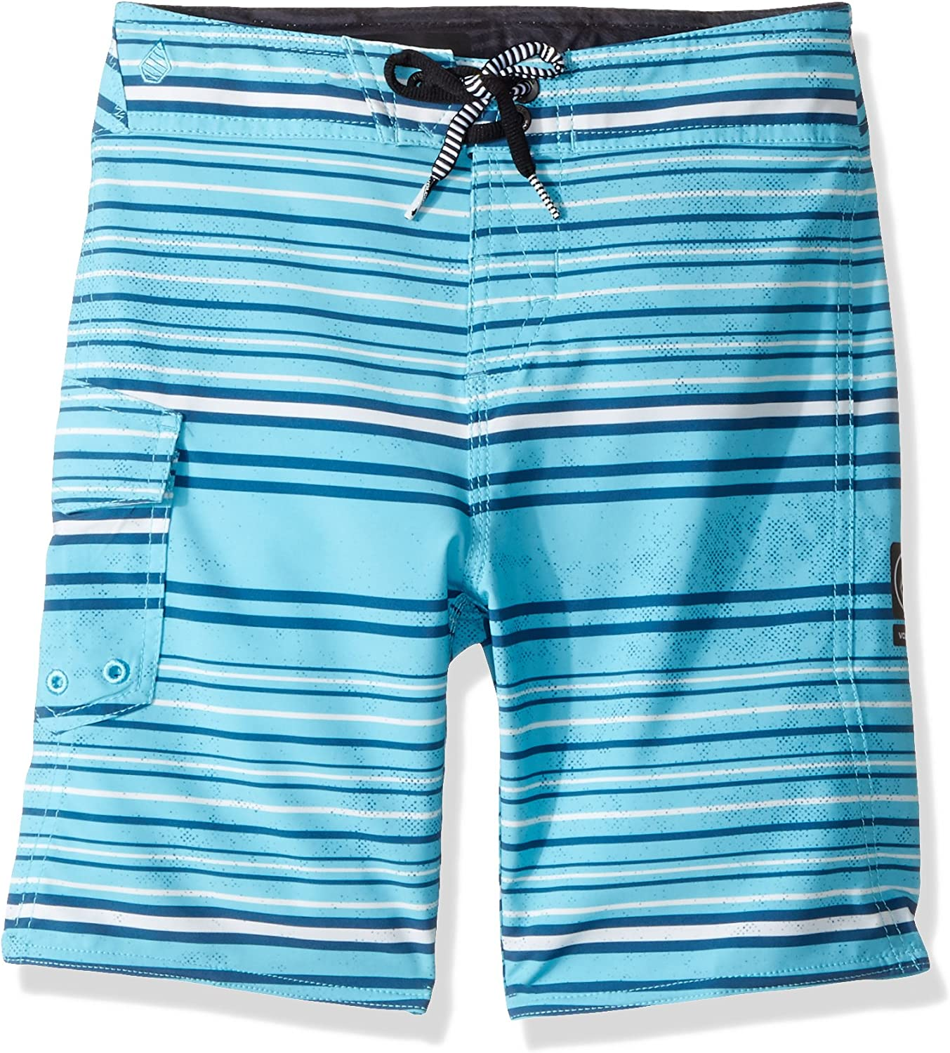 Volcom Little Boys' Magnetic Liney 13.5  Youth Boardshort