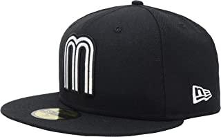 59Fifty M Hat Mexico World Baseball Classic Black Fitted Cap