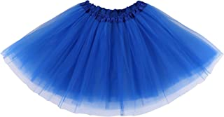 Women's Adult Classic Elastic 3 or 4 Layered Tulle Tutu...
