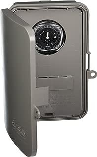 Grasslin by Intermatic GM40AV 24-Hour Electromechanical, 40A, SPDT/DPDT, Auto-Voltage, NEMA 3R Outdoor Plastic Enclosure