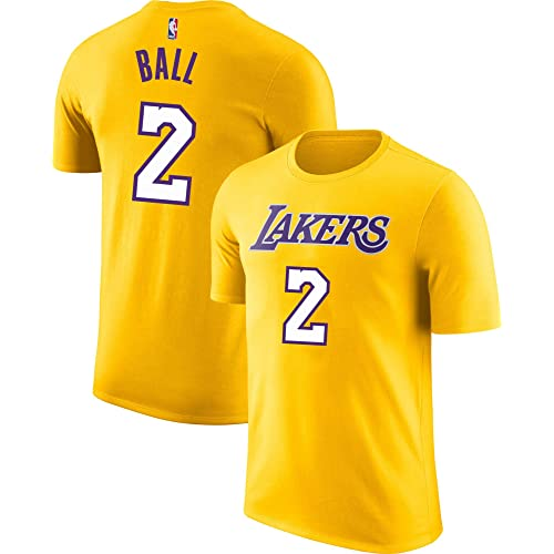 1473ef547f7 Outerstuff NBA Youth Performance Game Time Team Color Player Name Number  Jersey T-Shirt