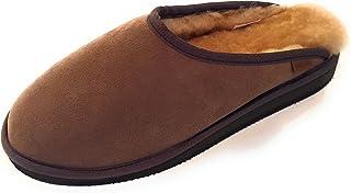 Qwaruba 经典洞洞鞋,带足弓羊皮拖鞋