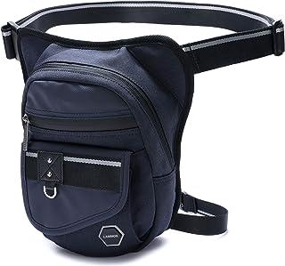 Men Leg Bag, Drop Leg Pouch Tools Bags Tactical Leg Hip Bags Purse Fanny Pack Thigh Bags Bike Cycling