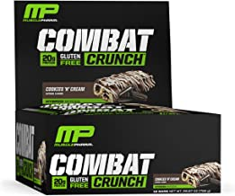 Muscle Pharm Hybrid Series Combat Crunch Cookies N Cream – 12 bar Estimated Price : £ 23,99
