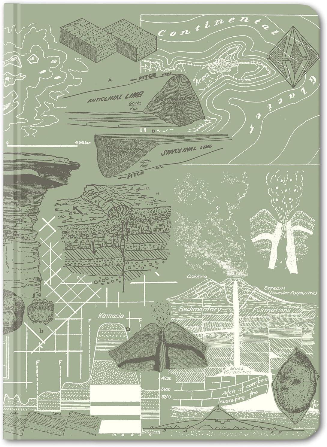 Cognitive Surplus Geology Earth Notebook. Science 40% OFF Cheap Bargain sale Sale Illustration