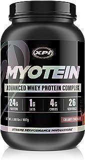 XPI Myotein Protein Powder (Creamy Chocolate, 2lbs) - Best Whey Protein Powder - Great Tasting Protein - Hydrolysate, Isol...