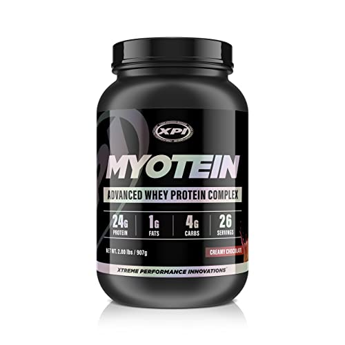 XPI Myotein Protein Powder (Creamy Chocolate, 2lbs) - Best Whey Protein Powder Complex