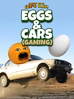 Clip: Annoying Orange Let's Play - Eggs and Cars (Gaming)