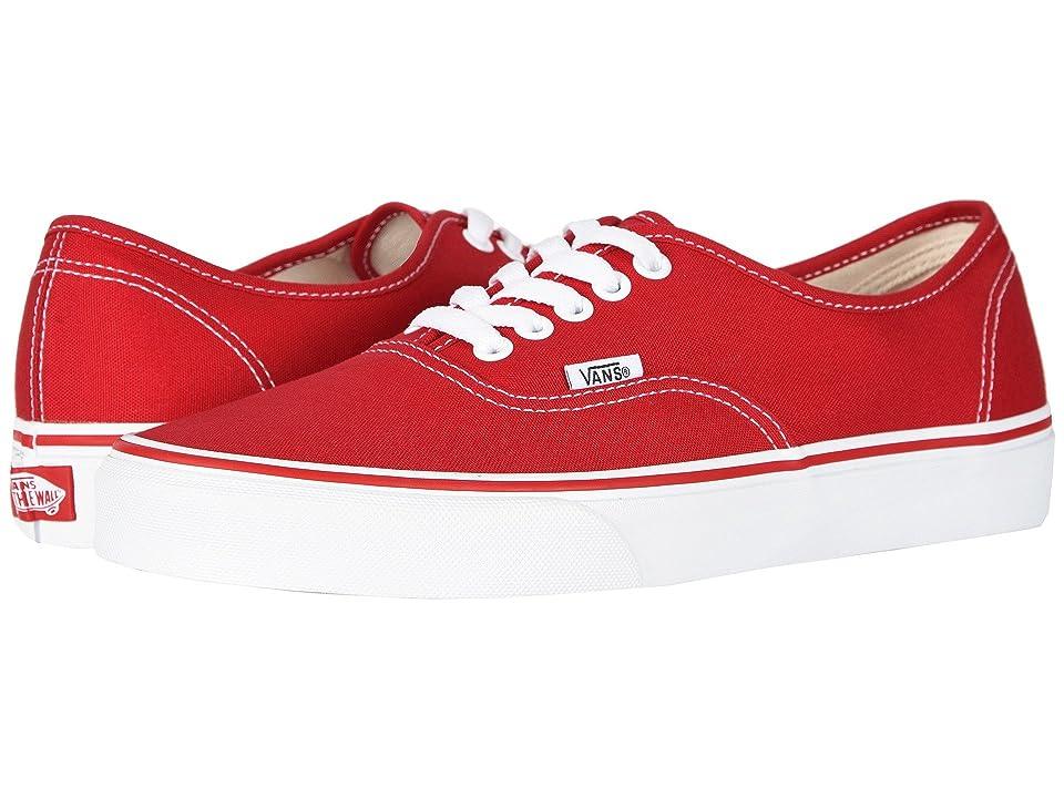 Image of Vans Authentictm Core Classics (Red) Skate Shoes