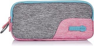 مقلمة قماش بسوستة من كالمليج، 20×10×5 سم - متعددة الالوان