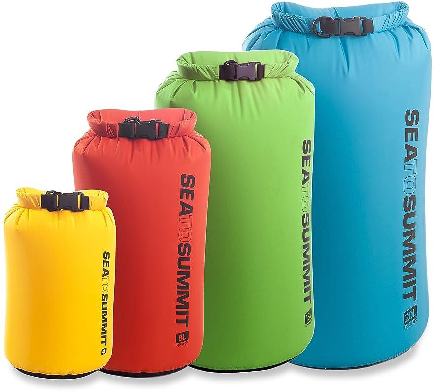 転用で家事をする[シートゥサミット]Sea to Summit Lightweight Dry Sack - 8 Liters ロールトップドライバッグ GREEN 8 liter [並行輸入品]