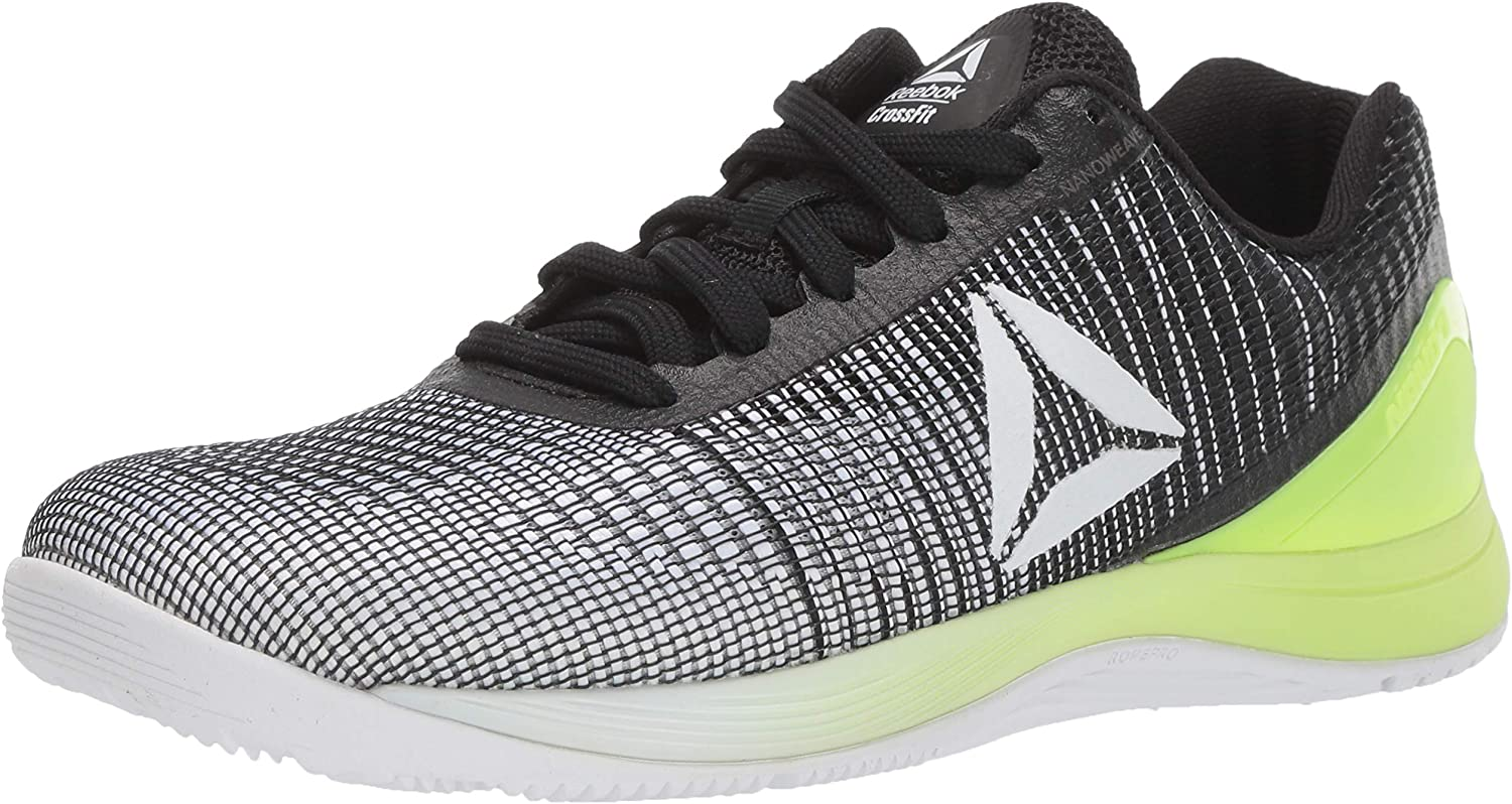 Reebok Men's CROSSFIT Nano 7 Cross Trainer, Off-Weiß Electric Flash, 12.5 M US