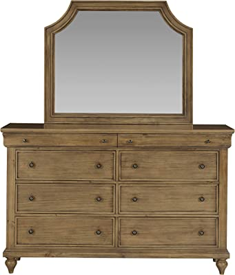 Standard Furniture Brussels 8-Drawer, Brown Bedroom Dresser