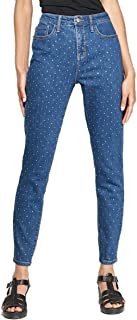 Wild Fable NWT Women's High-Rise Rhinestone Embellished Diamante Skinny Jeans