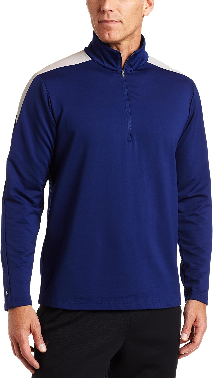 Antigua Men's Succeed Ranking TOP14 1 4 Zip Long Limited time trial price Pullover Sleeve