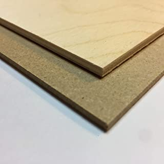 3MM MDF and Baltic Birch Plywood samples