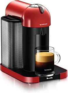 Breville-Nespresso USA BNV220RED1BUC1 Vertuo Coffee and Espresso Machine, Red