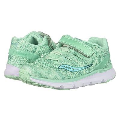 Saucony Kids Freedom ISO (Toddler/Little Kid) (Aqua) Girls Shoes