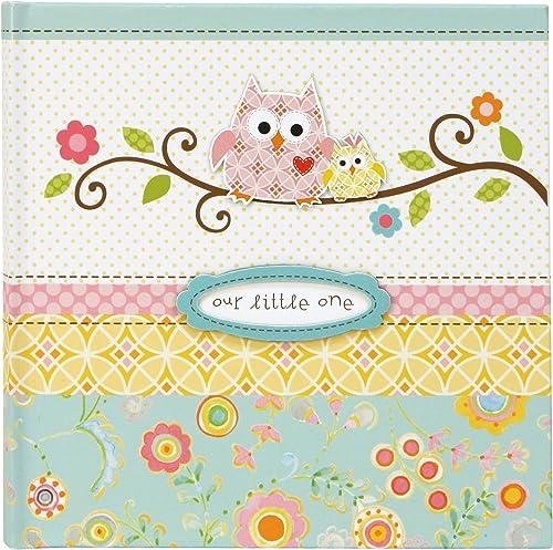 C.R. Gibson Owl Calendar Pink Baby Milestone Stickers, 11'' W x 18'' H