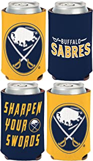 WinCraft NHL Buffalo Sabres 2 Pack 12 oz. 2-Sided Can Coolers