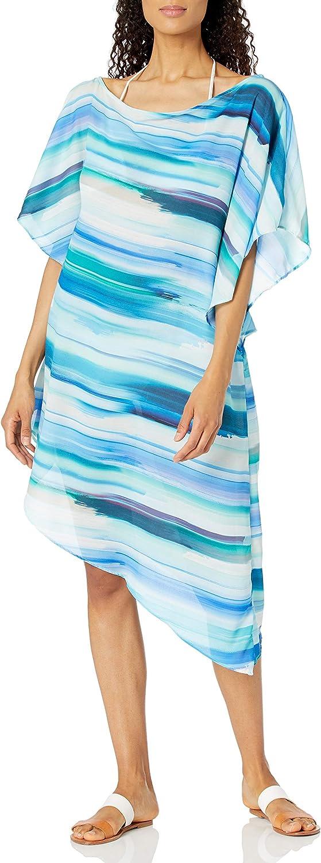 La Blanca Women's Asymmetrical Tunic Swimsuit Cover Up