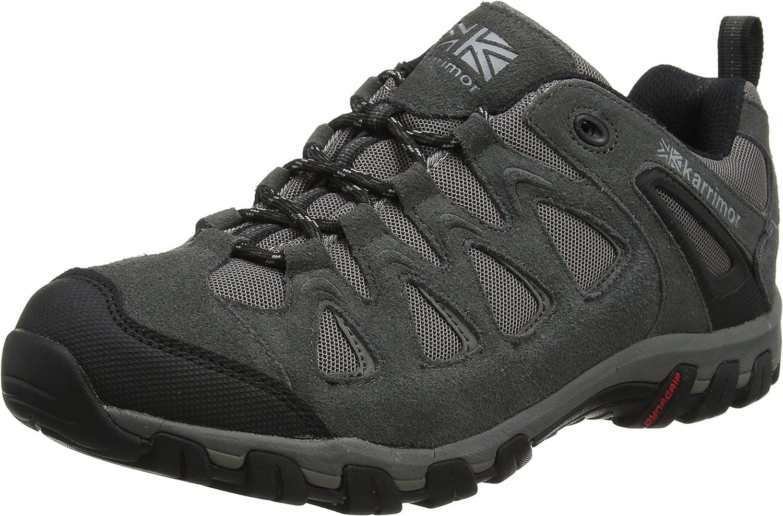 Karrimor Supa 5 Brown, Men's Low Rise Hiking Boots, Grey (Dark Grey), 41.5 EU, 7.5 UK