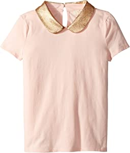 Kate Spade New York Kids - Embellished Collar Top (Little Kids/Big Kids)