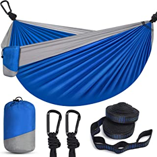 Hammock Camping Hammock, BSKSSK Portable Double & Single...