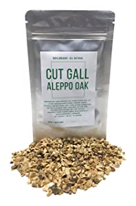 Cut Gall From Oak Trees - Natural Textile Dye - Dried, Cut & Organic Quercus Infectoria - Net Weight: 1.48oz/42g - also known as spangle, gallnut, nutgall, oak apple and oak gall
