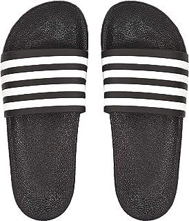DRUNKEN Men's Stripped Slide Flip Flop Slippers