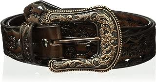 ARIAT Women's Copper Buckle Triangle Cut Out Belt
