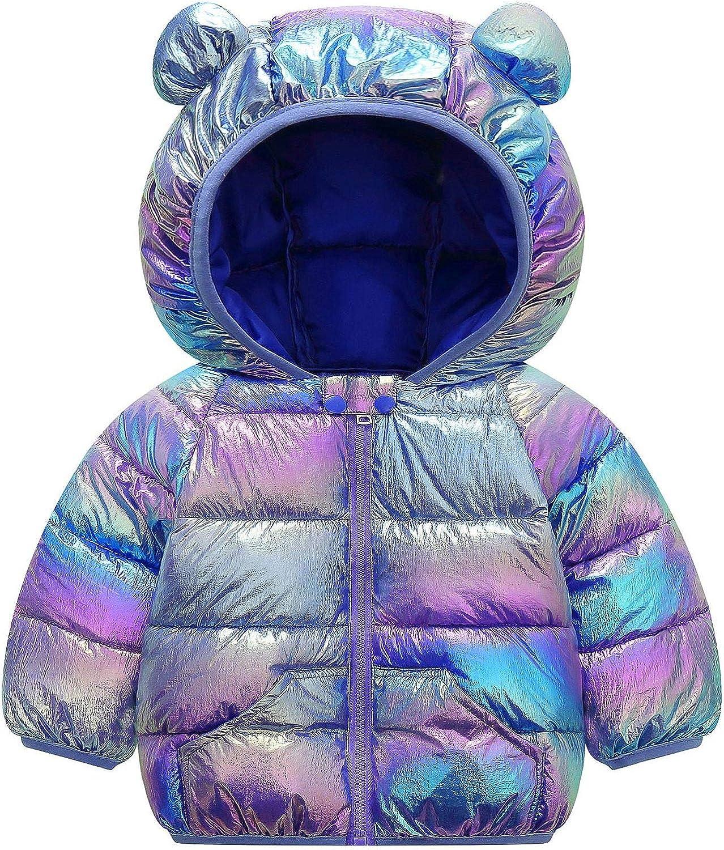 Baby Boys Girls Winter Coats Hoods Jacket Finally resale start Puffer Philadelphia Mall Li Outwear Down