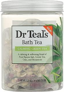 Dr Teal's Green Tea Bath Soaks 3oz, pack of 1