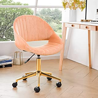 coral computer chair