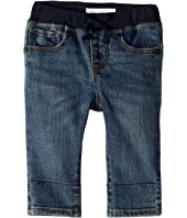 Burberry Kids - Pullon Jean Shorts in Mid Indigo (Infant/Toddler)
