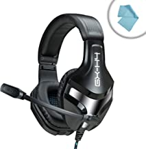 ENHANCE GX-H4 Computer Gaming Headset with Noise-Isolating Ear Pads and High Clarity Esports Mic for Dota 2, League of Legends, World of Warcraft: Legion, Battlefield 1 and More PC Games