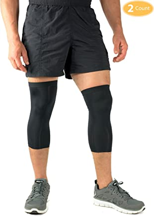 Compression Calf Sleeve Infused with Copper (Pair) | Shin Splints | Sports | Muscle and Joint Pain | Men and Women (Unisex)