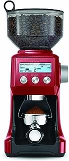 Breville BCG800CBXL Smart Grinder Coffee Machine, Cranberry Red