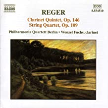 Digital Booklet: Reger: Clarinet Quintet, Op. 146 / String Quartet, Op. 109