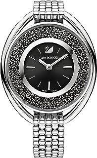 Swarovski Crystalline Oval Gold Tone Bracelet Watch 5181664