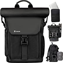 TARION Camera Backpack Canvas Camera Bag with Removable...