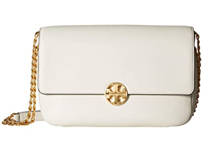 Tory Burch Chelsea Chain Shoulder Bag (New Ivory) Handbags