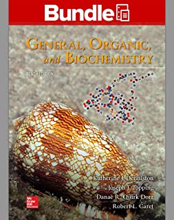 GEN COMBO LOOSELEAF GENERAL, ORGANIC & BIOCHEMISTRY; CONNECT ACCESS CARD