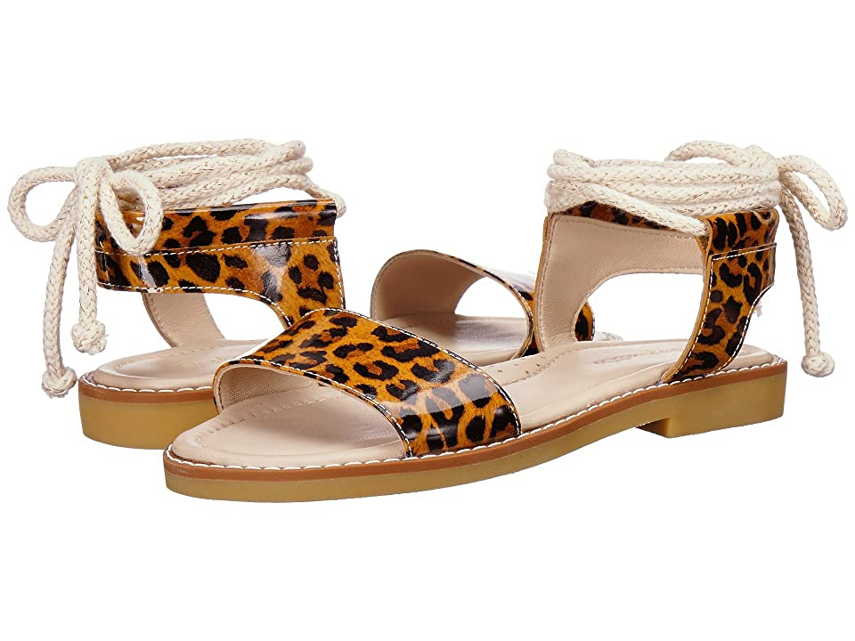 Elephantito India Sandal (Toddler/Little Kid/Big Kid) (Patent Leopard) Girls Shoes