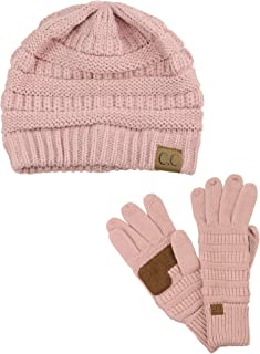 Best pink hat and gloves Reviews
