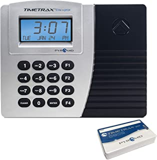 Pyramid TimeTrax Elite TTPROXEK Automated Proximity Time Clock System - Ethernet