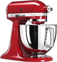 KitchenAid 5KSM125EER, Artisan keukenmachine met basisuitrusting, empire rood