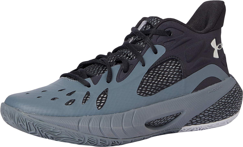 Under Bargain Armour Unisex HOVR Havoc Bargain 3 Gray Basketball 10 Shoe Pitch