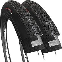 Fincci Par 28 x 1 1/2 Pulgados 40-635 Cubiertas para MTB Montaña Ciclo Carretera Hibrida Bici Bicicleta (Paquete de 2)